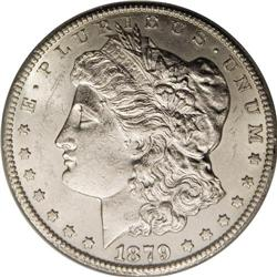 1879-CC S$1 Capped Die MS61 ANACS. VAM-3. A Top 100 Va