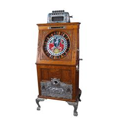 5Ct Schiemer-Yates Upright Slot Machine