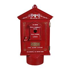Restored Gamewell Fire Alarm Box