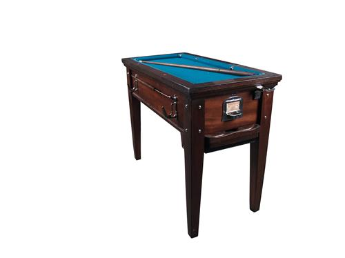 Coin op small pool snooker table res - Small pool table ...