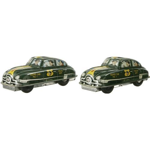 Lot Of 4 Marx Dick Tracy Friction Drive Cars