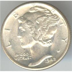 USA 1942 Mercury Dime