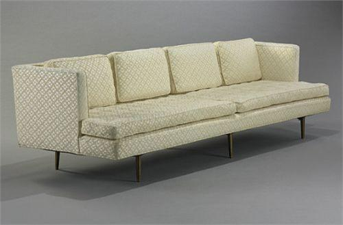 Beau Image 1 : Edward Wormley Sofa, Model #4907A Dunbar USA, C. 1949