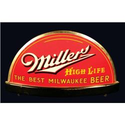 miller high life light up sign. Black Bedroom Furniture Sets. Home Design Ideas
