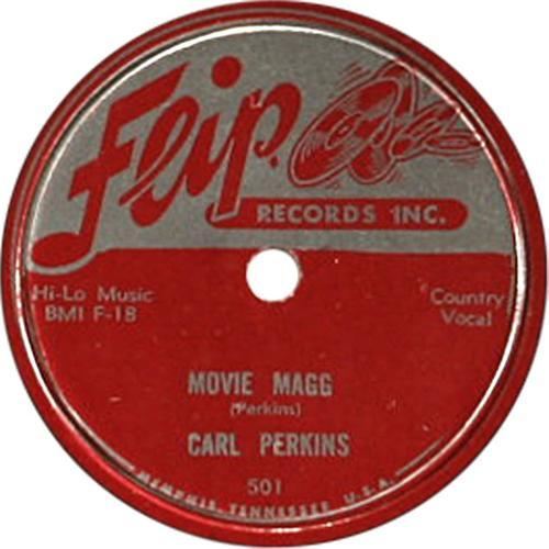carl perkins movie magg 78 flip 501 1955