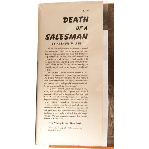 a report on death of a salesman by arthur miller The major theme in death of a salesman was the pursuit of this dream arthur miller's depiction of the american dream in death of a narrative report on ojt.
