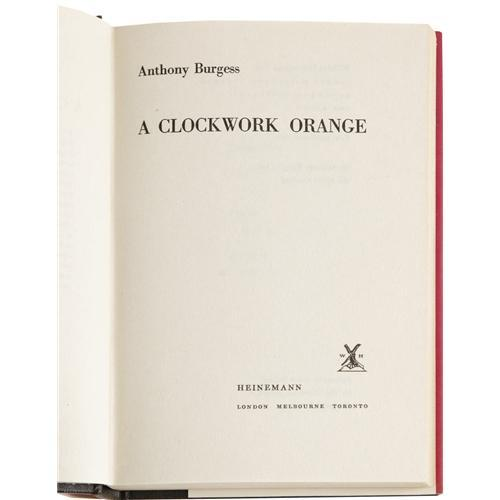 a description of humanity in a clockwork orange by anthony burgess A clockwork orange character list a clockwork orange by: anthony burgess summary plot overview summary & analysis part one, chapter 1.