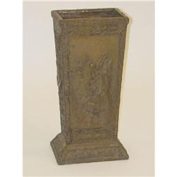 VICTORIAN CAST IRON UMBRELLA STAND-UNIQUE
