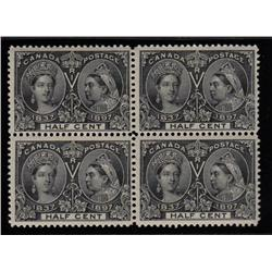 #50 VF-NH BLOCK OF 4 *JUBILEE* C$1800,00