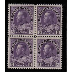#112 XF NH SELECT BLOCK 4 *ADMIRAL* C$600,00