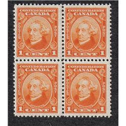 #141 to 144 VF-NH BLOCK OF 4 SET C$240,00