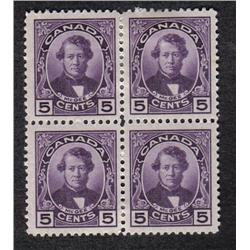 #146 to 148 VF-NH LH BLOCK SET OF 4 C$200,00
