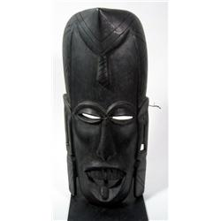 A WEST AFRICAN MASK