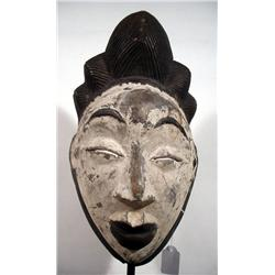 AN OLD PUNU ANCESTOR MASK