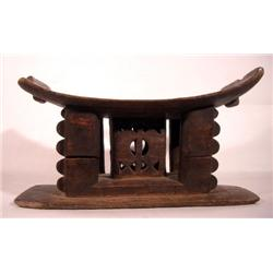 AN OLD ASHANTI STOOL