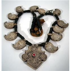 A NORTH AFRICAN NECKLACE