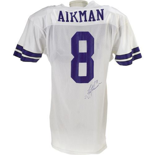 5df4c4eea For m  Image 2   1989 Troy Aikman Game Worn Rookie Jersey.