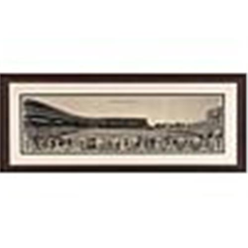 1939 Framed Chicago Cubs & Wrigley Field Vintage Panoramic Photo