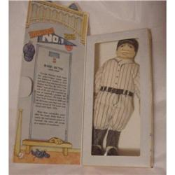 BABE RUTH Hallmark Cloth Doll in Box 1979 #1523083