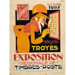 Italian advertising poster, exhibitions