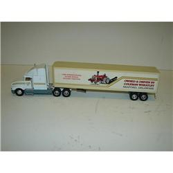 C & M FARMS TRACTOR TRAILER TOY