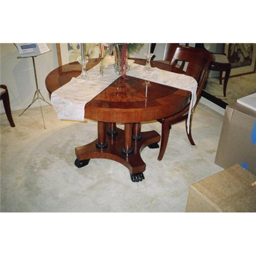 Baker Furniture Palladian Dining Table And