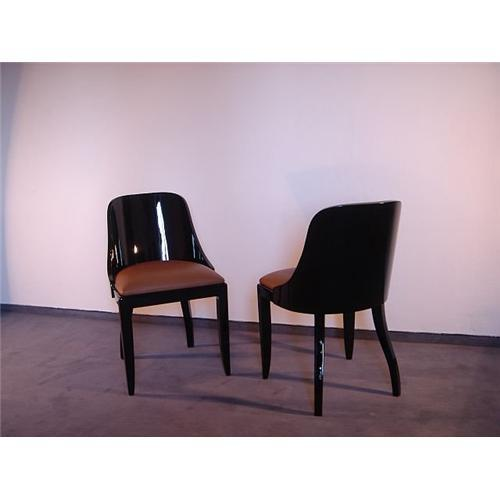 Chairs dining room art deco french 1601121 for Dining room furniture auctions
