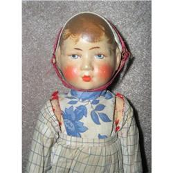 German Bing Art Doll oil painted features #1564771