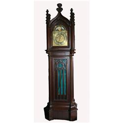 Grandfather Clock Movements http://www.icollector.com/Grandfather-Clock-Gothic-Revival-Elliott-Movement_i7212359