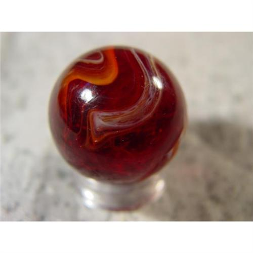 2 Red Marbles : Bb marbles akro agate red slag quot
