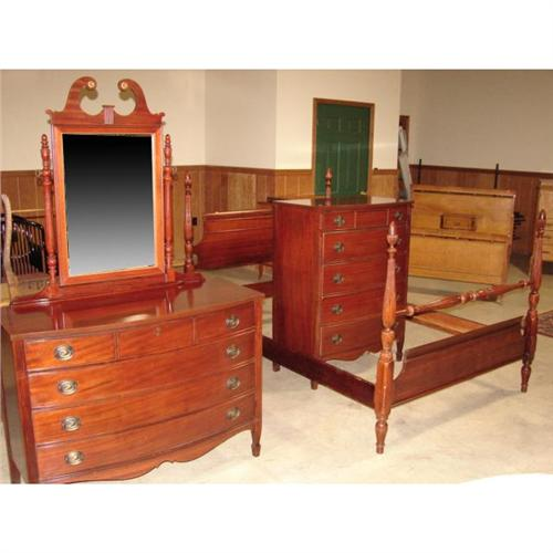 DIXIE MAHOGANY BEDROOM SUITE