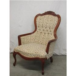 Victorian Gentleman's Parlor Chair