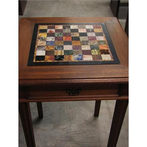 J. B. Van Sciver Co. Chess Game Table