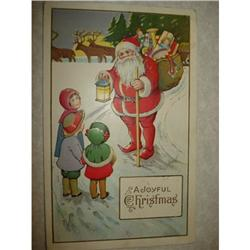 ANTIQUE SANTA CLAUS ST NICK POSTCARD EMBOSSED #1679139