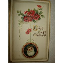 ANTIQUE SANTA CLAUS ST NICK POSTCARD EMBOSSED #1679150