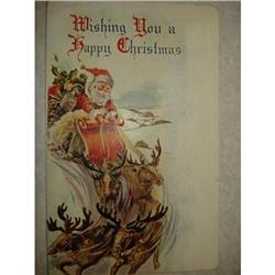 ANTIQUE SANTA CLAUS ST NICK POSTCARD EMBOSSED #1679153