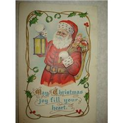 ANTIQUE SANTA CLAUS ST NICK POSTCARD EMBOSSED #1679155