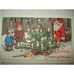 ANTIQUE SANTA CLAUS ST NICK POSTCARD FATHER#1679156