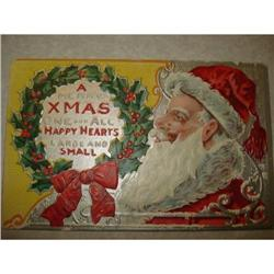 ANTIQUE SANTA CLAUS ST NICK POSTCARD FATHER#1679158