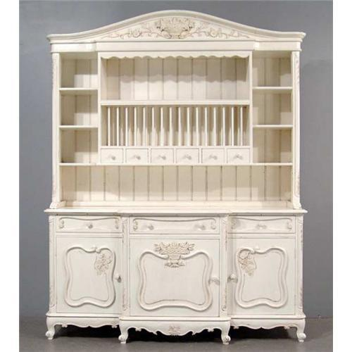 french country buffet hutch shabby chic hand 1695107. Black Bedroom Furniture Sets. Home Design Ideas