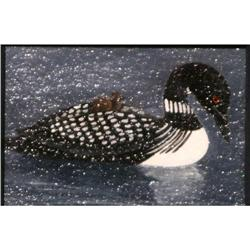 Dianne Williams, Acrylic ACEO Loons