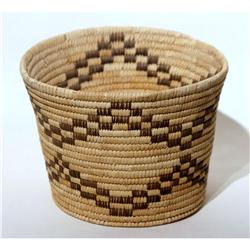 Papago Basket mid 1900's Good Cond.