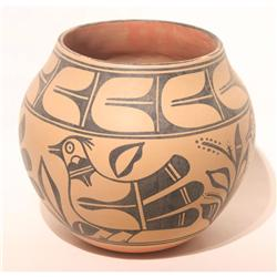 Large Santo Domingo Pottery Olla Old