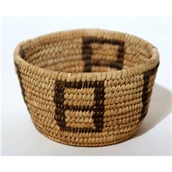 Papago Basket 1900's Good Condition