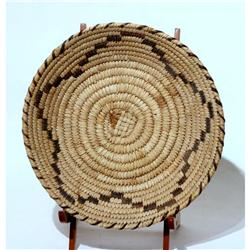 Papago Basket Tray 1900's Good Condition