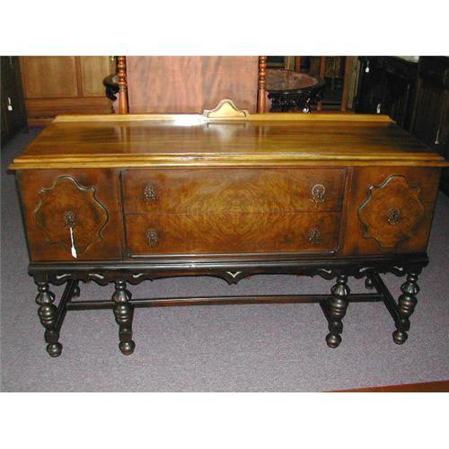 Real nice 1920 39 s walnut buffet server 1726050 for Sideboard real