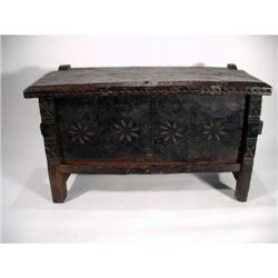 A NEWAR CHEST,