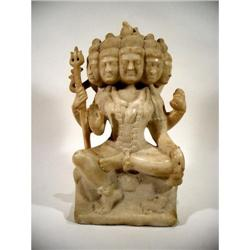 A MAGNIFICENT SCULPTURE OF SHIVA,