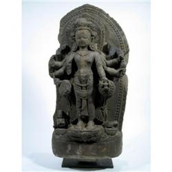 A RARE NEPALESE GRANITE SCULPTURE,