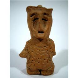 AN INDUS VALLEY CERAMIC FIGURE,